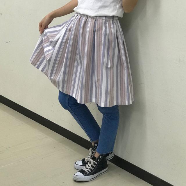華服飾専門学校 スカート製作体験1