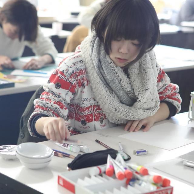 嵯峨美術短期大学 SAGABI 2018 体験入学3