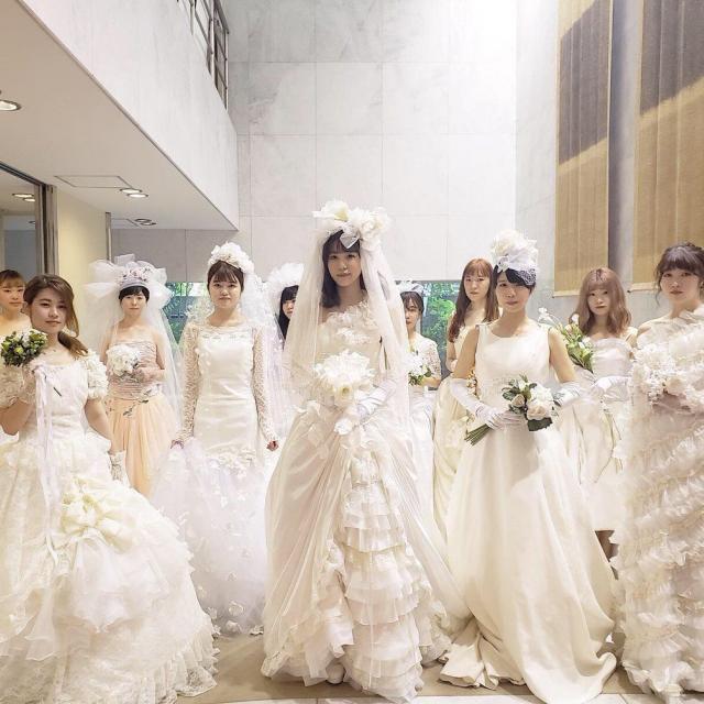 神戸ファッション専門学校 12/14 ドレス試着体験1
