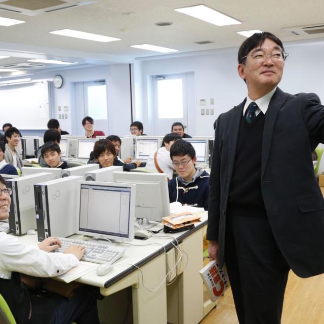 国際理工情報デザイン専門学校 対象:高校2年生 情報システム科 『学校体験会』2