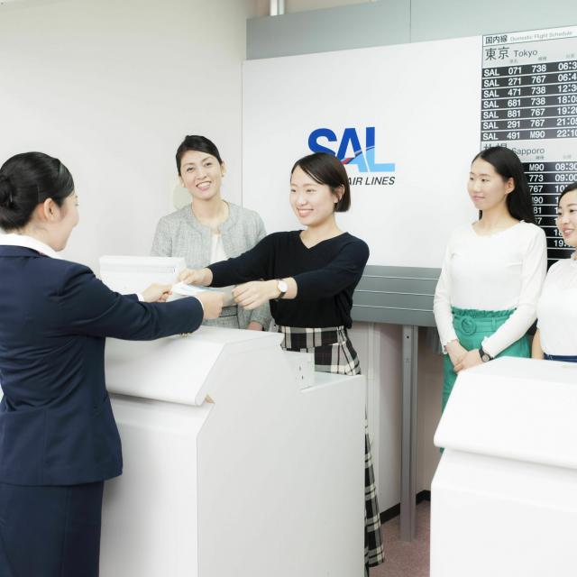 駿台観光&外語ビジネス専門学校 【エアライン】オープンキャンパス2