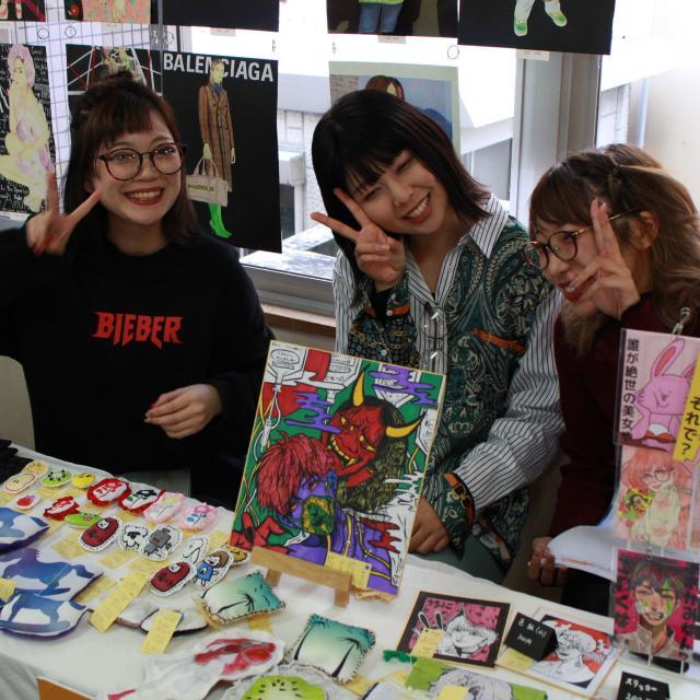 香蘭ファッションデザイン専門学校 【全学科対象】2019大手門祭☆2