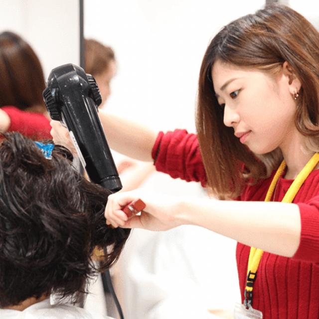 熊本ベルェベル美容専門学校 【午後の部】春に心うきうき♪熊本ベルでお仕事体験!3