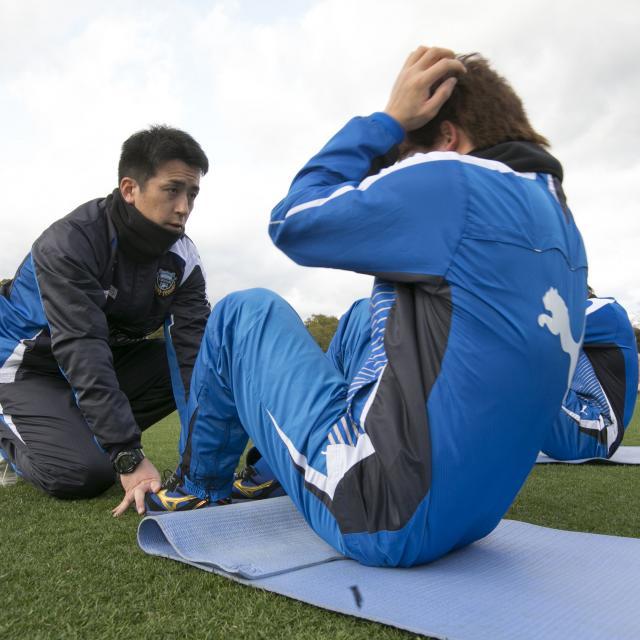 東京YMCA社会体育・保育専門学校 【トレーニング&フィットネスエクササイズ体験】体幹を鍛える♪2