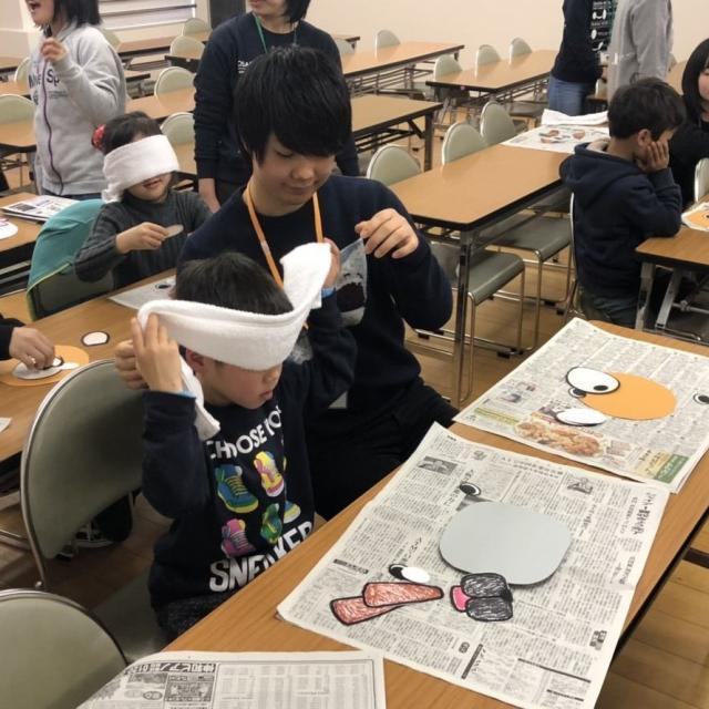 大阪保育福祉専門学校 法人内施設の子どもと一緒にお正月遊びを楽しもう♪3