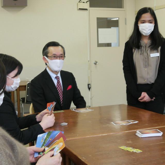 仙台YMCA国際ホテル製菓専門学校 人と話すのが好き+英語コミュニケーション力をつけたい!1