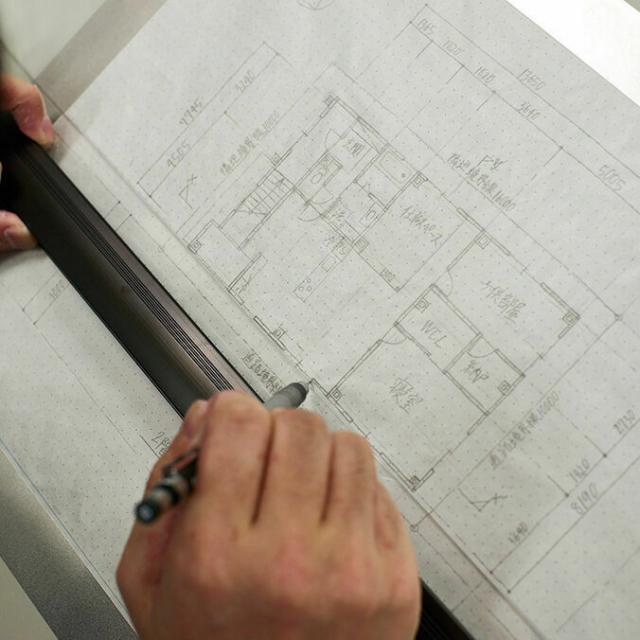 専門学校 東京テクニカルカレッジ [建築科]半日体験~「プロの道具で手描き図面を描こう!」1