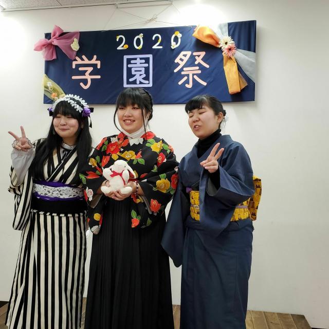 今泉女子専門学校 学園祭20214