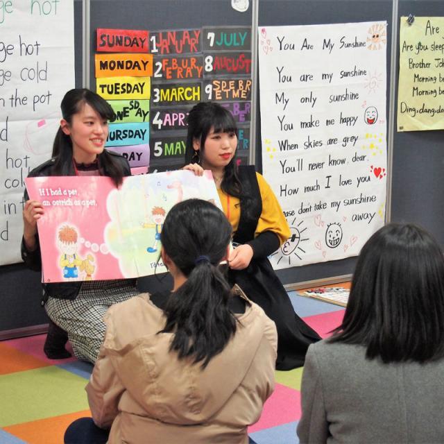 名古屋外語・ホテル・ブライダル専門学校 ネイティブスピーカーから生きた英語を学ぶ!~英語科コース~1