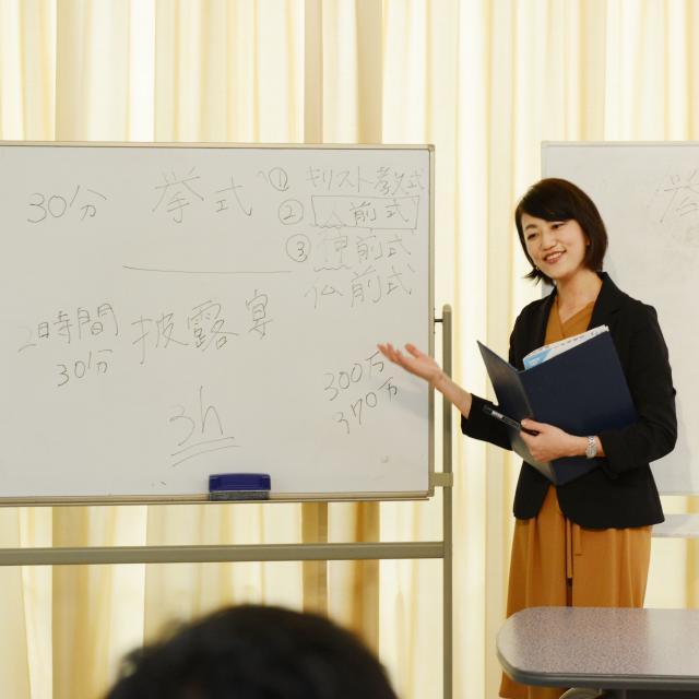 外語ビジネス専門学校 <ブライダル>ブライダル業界の舞台裏教えます!2
