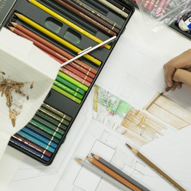 名古屋デザイナー学院 インテリアデザイン スタート講座!1