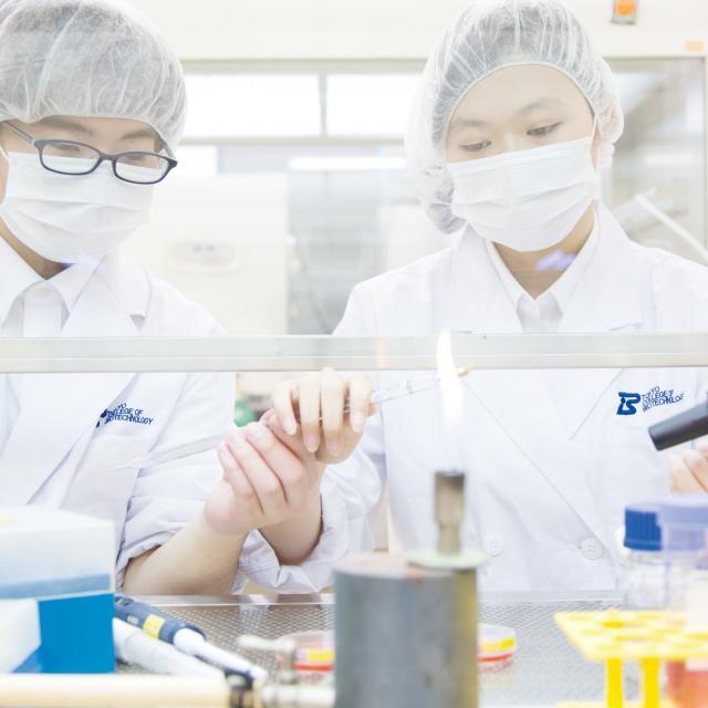 東京バイオテクノロジー専門学校 【再生医療コース】オープンキャンパス:東京バイオのコース体験2