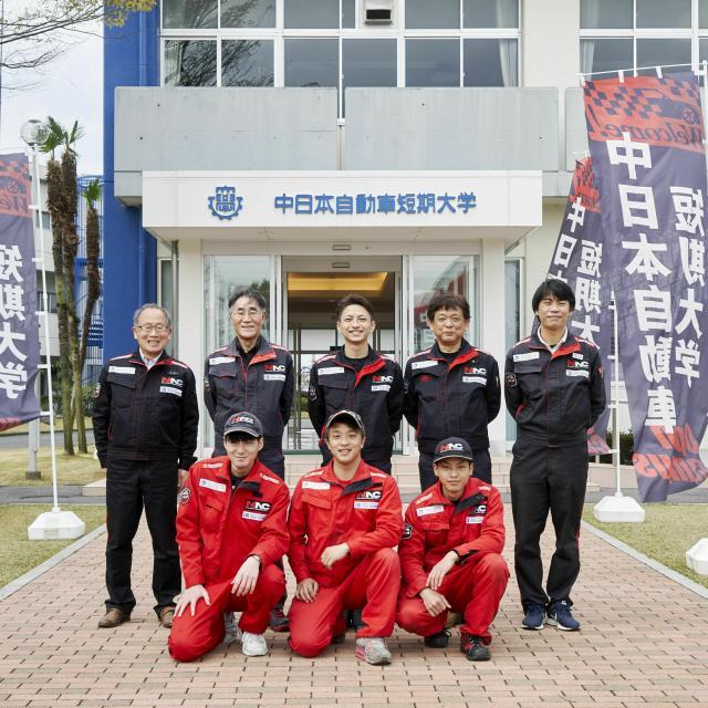 中日本自動車短期大学 こんな体験もできちゃう!?整備士の体験してみよう!3