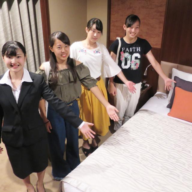 東京YMCA国際ホテル専門学校 ☆体験入学☆宿泊サービス授業編☆1