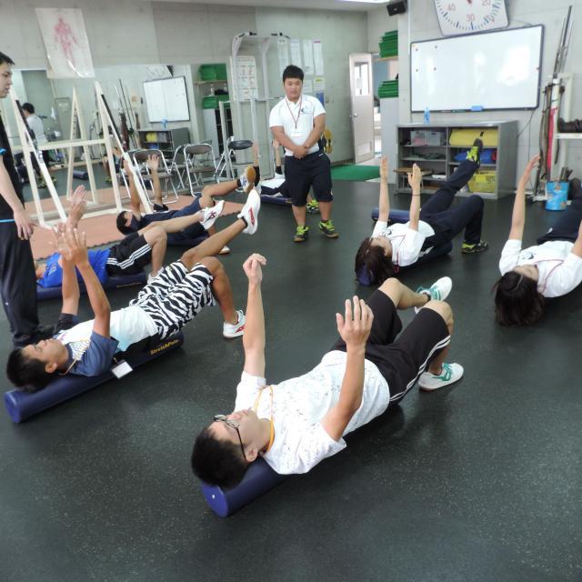 大阪社会体育専門学校 スポーツトレーナー・インストラクター・公務員系 体験入学2