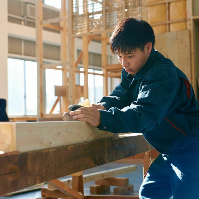 日本工科大学校 【大工コース】建築職人マイスター専攻科1