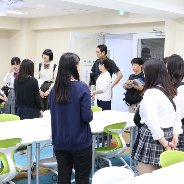 東京福祉大学 王子キャンパス 夏のオープンキャンパス3