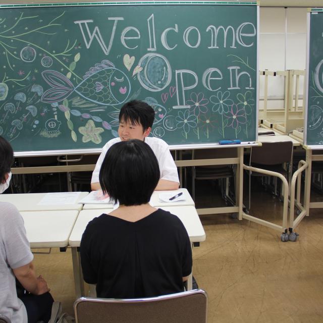 保育・介護・ビジネス名古屋専門学校 来校して気軽に相談できる個別相談会!1