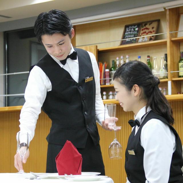 盛岡外語観光&ブライダル専門学校 オープンキャンパス(ホテルビジネス科)1