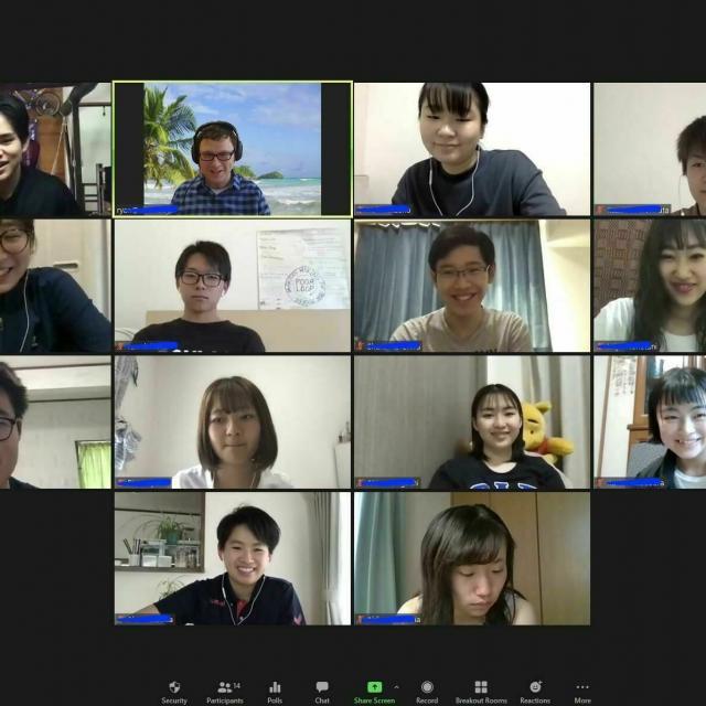 NIC International College in Japan 大阪校・オンライン・高校部説明会1
