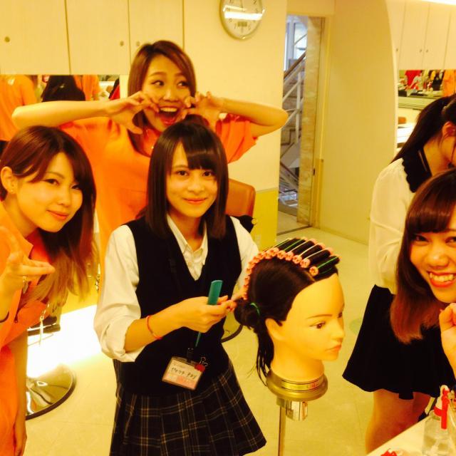 横浜ビューティー&ブライダル専門学校 【ヘアメイク】ヘアアレンジ・特殊メイク☆高校2年生も歓迎♪2