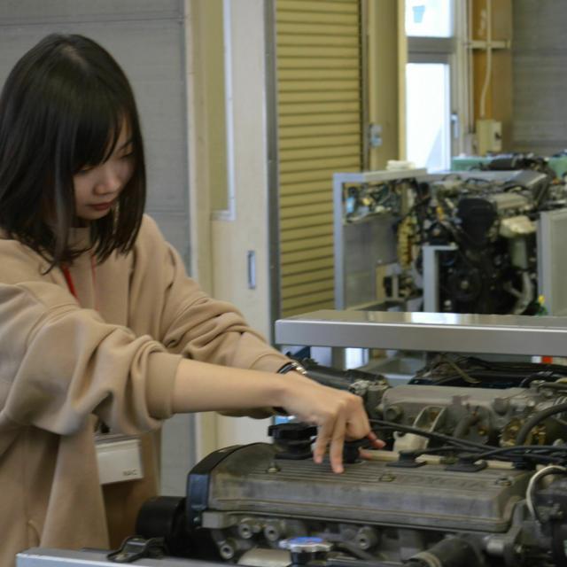 中日本自動車短期大学 体験実習、はじまります!1