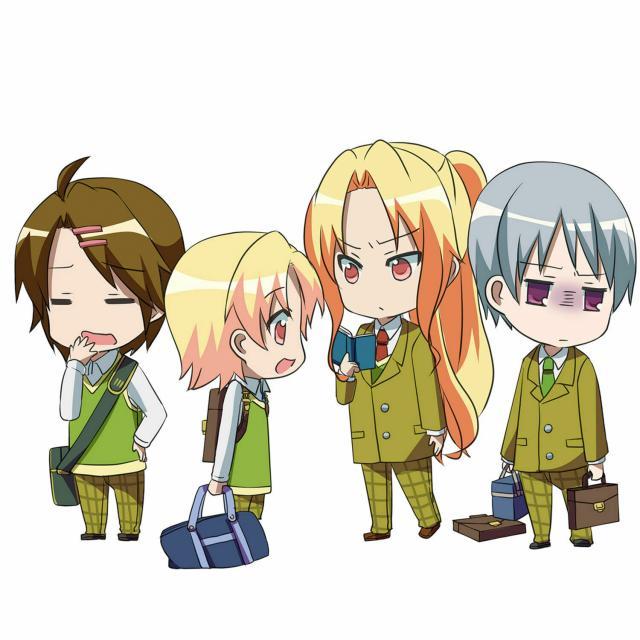 日本デザイン福祉専門学校 11/28(日)「アニメ入門」マンガアニメキャラクター1