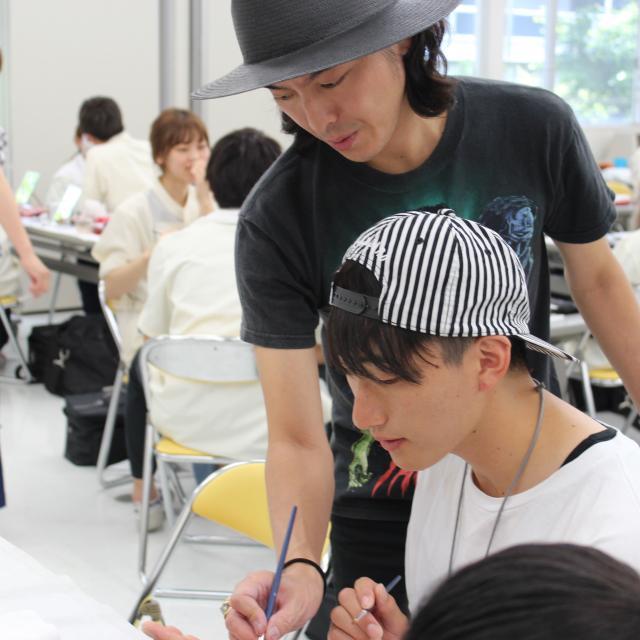 タカラ美容専門学校 特殊メイクDAY【6月】1