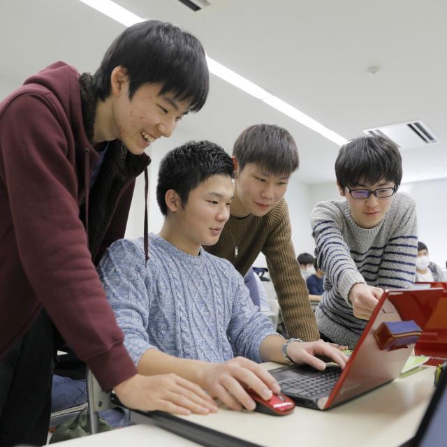 浜松情報専門学校 オープンキャンパス1