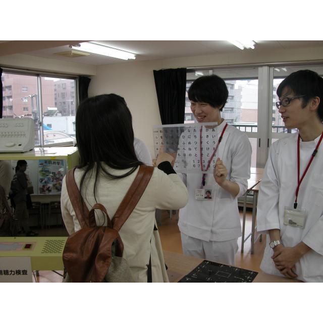 【補聴言語学科】体験!言語聴覚士の世界