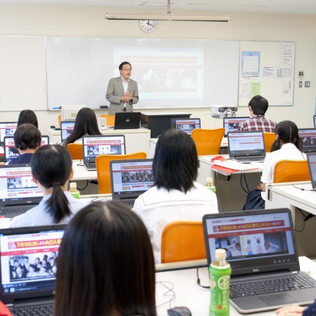 仙台総合ビジネス公務員専門学校 2018 オープンキャンパス(学科説明&体験授業)1
