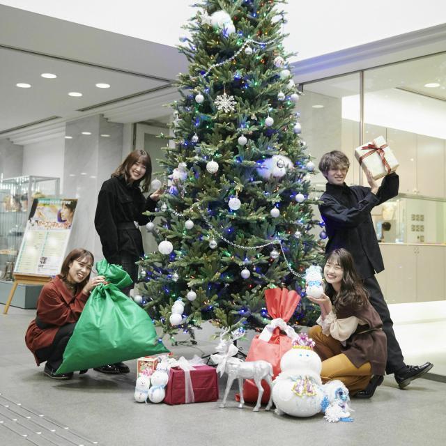 国際文化理容美容専門学校国分寺校 クリスマスオープンキャンパス1