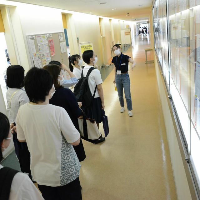日本赤十字秋田短期大学 2021秋のミニオープンキャンパス3