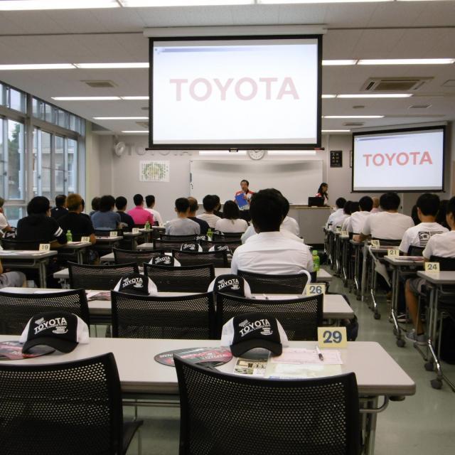 専門学校トヨタ東京自動車大学校 校内(施設)見学会1