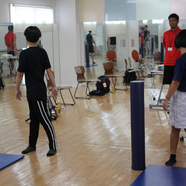 SOLA沖縄保健医療工学院 スポーツ科学CSトレーナー学科2