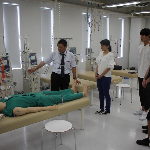SOLA沖縄保健医療工学院 臨床工学技士学科4
