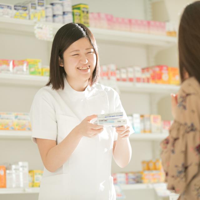 日本こども福祉専門学校 【くすり】医療系分野を考えている方!登録販売者のお仕事紹介1