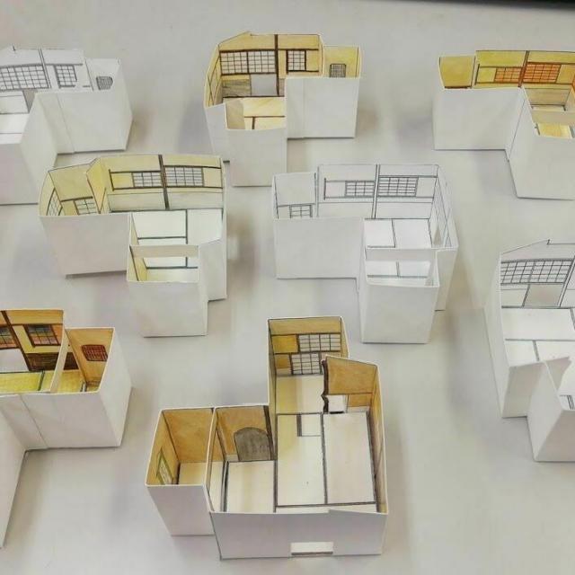 読売理工医療福祉専門学校 現役一級建築士の先生と建築・インテリア業界を体験1