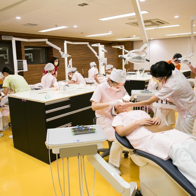 新宿医療専門学校 ★歯科衛生学科★歯科衛生の\あんなこと/ \こんなこと/1