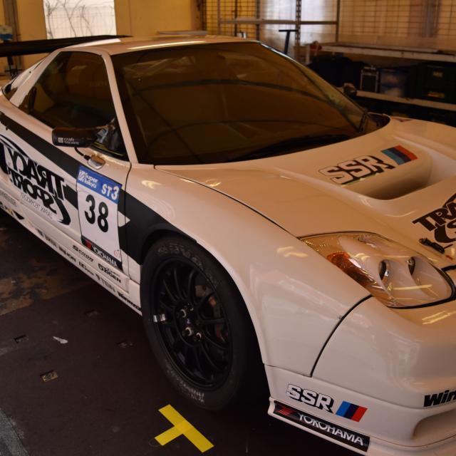 日本モータースポーツ専門学校大阪校 レーシングカーに触れてみよう!!【モータスポーツコース】2