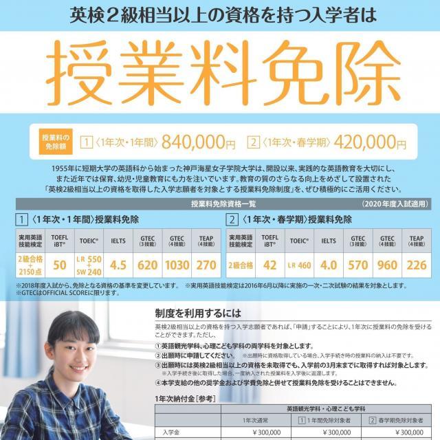 神戸海星女子学院大学 11月のオープンキャンパス(個別相談型)4