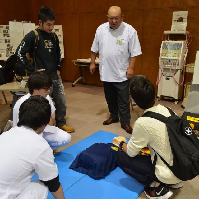 関西医療学園専門学校 【柔道整復】スポーツ(クラブ)AO?部活のがんばりを評価!3