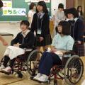 町田福祉保育専門学校 【介護】車椅子体験