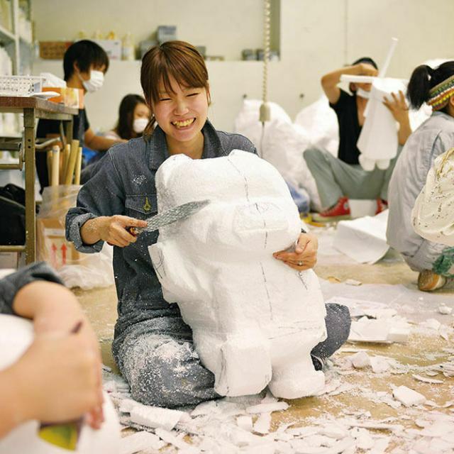 大阪デザイナー専門学校 【来校型】はじめての特殊メイク講座3