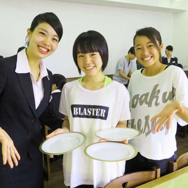 東京YMCA国際ホテル専門学校 ☆体験入学☆料飲サービス授業編 2020☆1