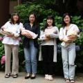 名古屋文化学園保育専門学校 体験授業「乳児保育入門講座」&こども園の先生の話を聞こう