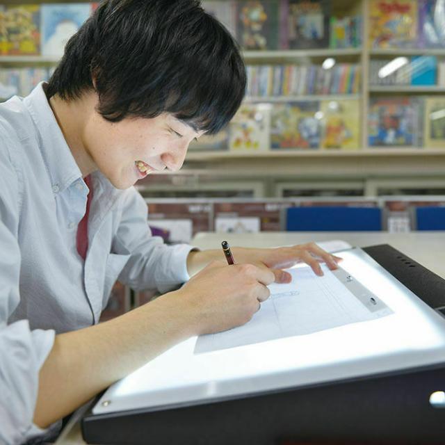 大阪デザイナー専門学校 はじめてのアニメーション講座2