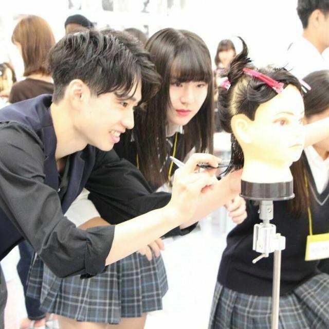 日本美容専門学校 放課後体験2