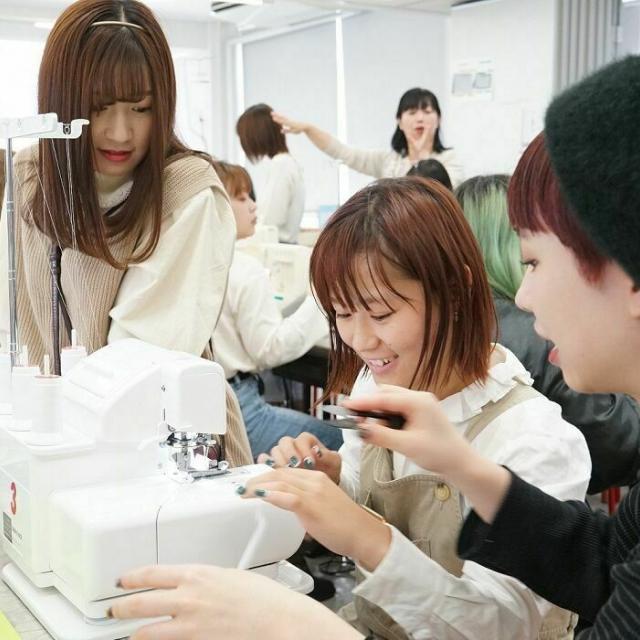 名古屋ファッション専門学校 3月26日・Zipperポーチ制作・ガイダンス1