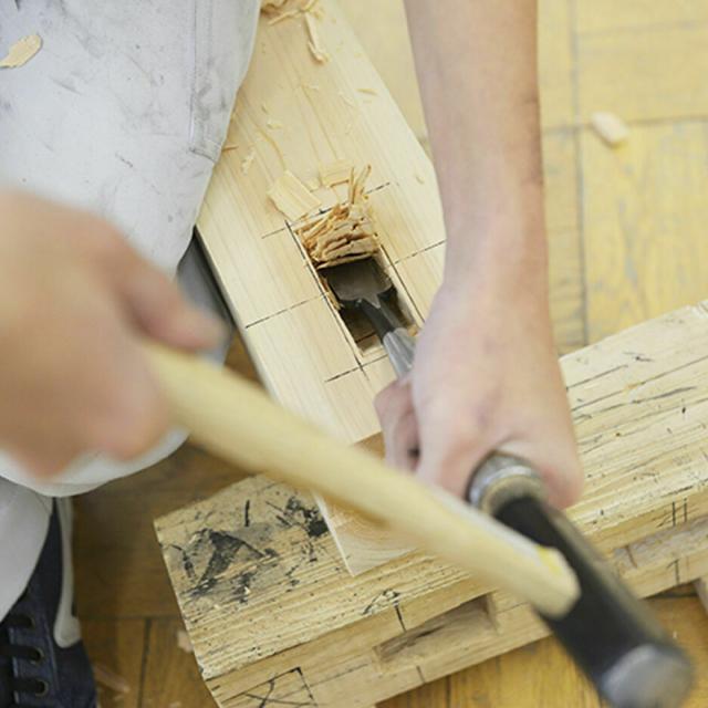 東海工業専門学校金山校 1日で大工道具を使いこなせる!大工コース!1